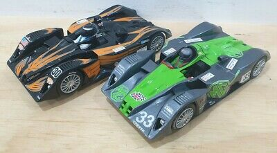 £49.99 • Buy 2x Scalextric Cars MG Lola Le Mans Hornby.