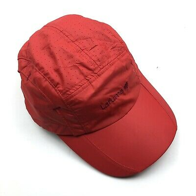 £10 • Buy Lafuma 5 Panel Cap One Size Fits All Red Outdoor