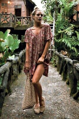 AU175.22 • Buy Spell And The Gypsy Collective Kombi Flutter Dress Spice Size S
