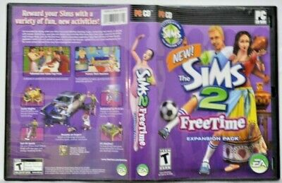 £16.28 • Buy THE SIMS 2 Freetime Expansion Pack W/ Product Key Complete PC CD-ROM
