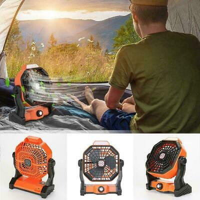 AU45.26 • Buy USB Outdoor Small Fan LED Camping Lighting Function Mini Portable T5O4