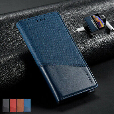 AU80 • Buy For Oppo A9 2020 Reno Z Realme 5 Pro F1s Luxury Flip Leather Wallet Case Cover