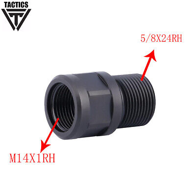 $15.64 • Buy  Stainless Muzzle Thread Adapter .308 M14X1RH To.308 5/8x24RH Converter Adapter