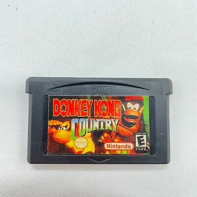 AU29.95 • Buy Donkey Kong Country Gameboy Advance GBA Cartridge Only In Great Condition