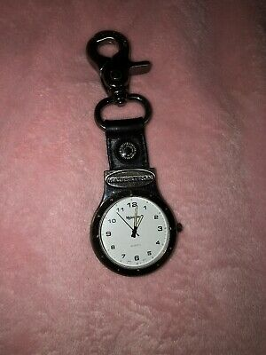 $50 • Buy Majestron Clip Watch Compass Silver Tone Glow In The Dark Dial