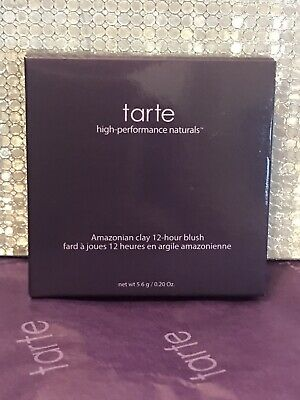 Tarte Amazonian Clay 12-Hour Blush - Exposed - 5.6g Full Size Brand New & Boxed • 26£