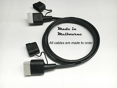 AU39 • Buy 4m 50 Amp Anderson Plug Extension Lead 6mm Twin Core Cable With Dust Cover