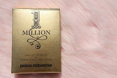 $ CDN22.85 • Buy Paco 1 MILLION Paco Rabanne Men 0.3oz Cologne With Key Chain Perfect Gift UNBX