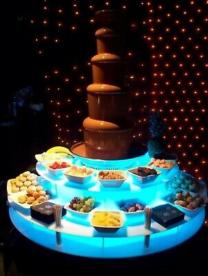 £3700 • Buy Commercial 34R Sephra Chocolate Fountain - Popcorn Machine - Candy Floss Machine