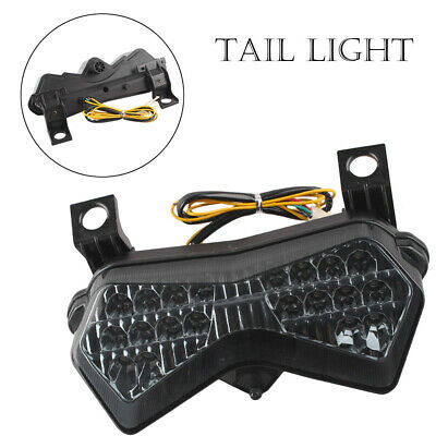 $35.77 • Buy LED Tail Light Turn Signals For Kawasaki Z1000 2003-2005 & ZX6R 2003-2004 Smoke