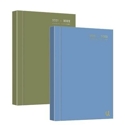£3.39 • Buy A5 2021-2022 Diary Day To Page Academic Diary Hardback Student School Teacher