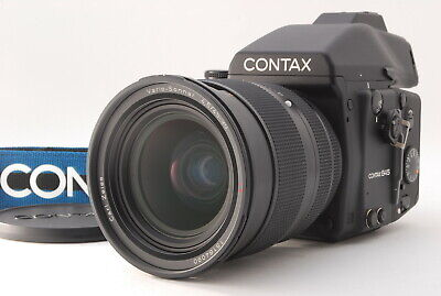 $ CDN5081.79 • Buy 【TOP MINT】 CONTAX 645 Body + 45-90mm F/4.5 Lens MF-B-1A Film Back From Japan