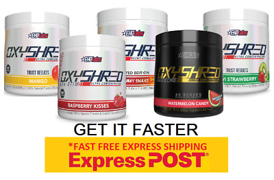 AU75.90 • Buy Ehplabs Oxyshred Ehp Labs Oxy Shred Thermogenic Fat Burning.free Express Ship