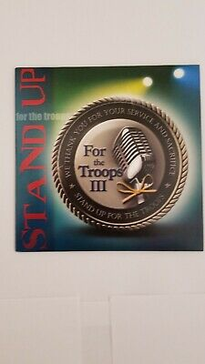 $3.99 • Buy STAND UP For The Troops III     2009      Entertainment CD For US Military