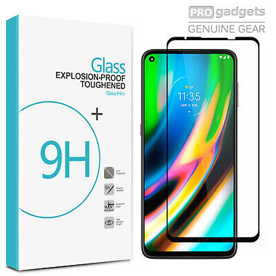 AU9.99 • Buy Full Cover 9H Tempered Glass Screen Protector For Motorola Moto G9 Plus/ Play