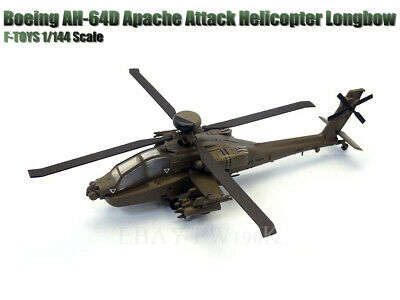 AU23.31 • Buy F-toys 1/144 Heliborne  5 AH-64D US Army  Apache Attack Helicopter Longbow