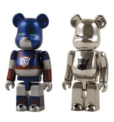 $118.82 • Buy Medicom 100% Bearbrick Transformers Optimus Prime & Megatron Box Set 2007 Japan