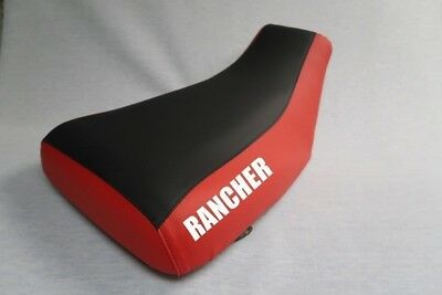 $41.99 • Buy Honda Rancher 350 2001-06 Logo Red Sides Seat Cover #nw188mik187