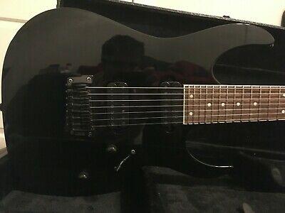 AU648.88 • Buy Ibanez RG7321 7 String Black 2010 With Wooden Case Great Condition