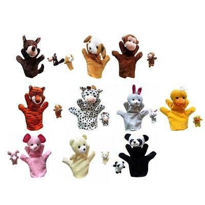 £5.69 • Buy 49 Styles Animal Hand Glove Puppet Soft Plush Puppets Kid Childrens Toy Funny
