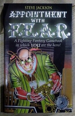 AU14.38 • Buy Fighting Fantasy #18 Appointment With F.E.A.R. 2002 Wizard Books Special Edition