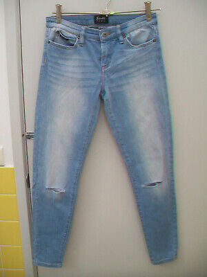 AU49.93 • Buy Bardot Ankle Distressed Ripped Jeans Size 9
