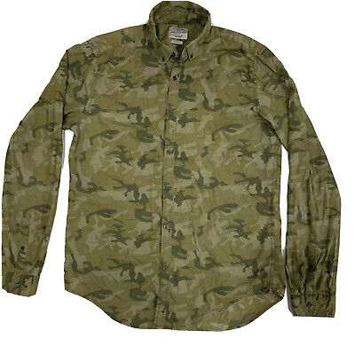 $10.30 • Buy Camouflage Outfitters Mens Regular Fit Dress Shirt Sz Large
