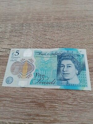 AA01 Low Serial Number £5 Five Pound Note Polymer Rare First Run Collectable • 21£