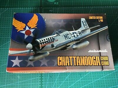 Eduard Limited Edition P-51D-5 Mustang With Dorsal Fin 1/48th Scale Plastic Kit • 28£