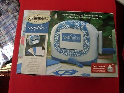 AU72.23 • Buy Spellbinders Sapphire Die Cutting Machine And Plates,instruction Book Plus