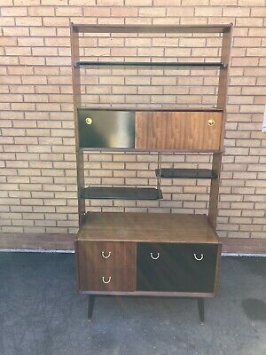 £495 • Buy E GOMME G PLAN LIBRENZA Mid Century Vintage Retro 50s 60s Wall Unit Room Divider