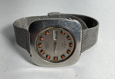 $ CDN36.41 • Buy Seiko DX Automatic Mens Watch Day Date 6106-7509 Rare Vintage  Parts Repair
