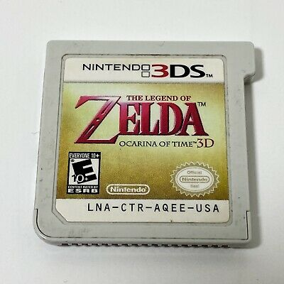 AU19.66 • Buy The Legend Of Zelda: Ocarina Of Time 3D (3DS, 2011) - Cartridge Only