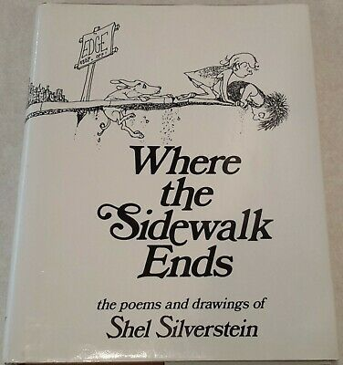 Where The Sidewalk Ends Shel Silverstein • 14.53£