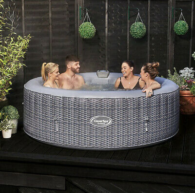 CleverSpa Oceana 6 Person Hot Tub - Limited Edition WITH WARRANTY✅ NOT LAY Z SPA • 689.99£