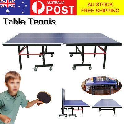 AU379.99 • Buy TABLE TENNIS PING PONG TABLE Collapsible Indoor Pro Table Tennis 274*152.5*76CM