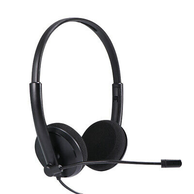 £7.98 • Buy USB Headphones With Microphone Noise Cancelling Headset For Skype Laptop UK