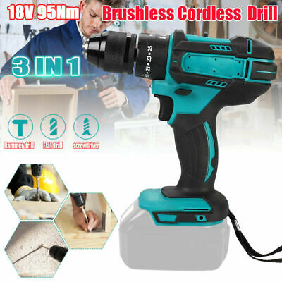 £26.99 • Buy Replace For Makita 18V Cordless Brushless Impact Driver 1/2  Hammer Drill 3 In 1