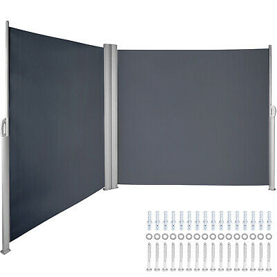 $ CDN261.20 • Buy Retractable Side Awning Patio Screen Retractable Fence 71x236inch Privacy Screen