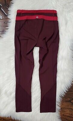 $ CDN40.54 • Buy Lululemon Fitted Full-On Luxtreme Crop Leggings Womens Size 2