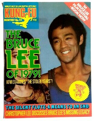 £12.99 • Buy Kung Fu Monthly Poster Magazine No 52 - Excellent Condition!! Bruce Lee KFM