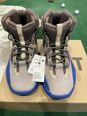 $ CDN400.31 • Buy Adidas Yeezy Desert Boot Taupe Blue GY0374 Size 12 NEW In BOX Ready To SHIP