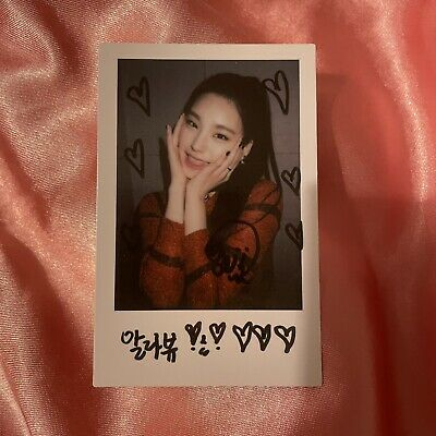Kpop Itzy Official Itz Icy Pre Order Polaroid Yeji Photocard • 10£
