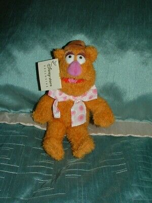£6.99 • Buy Disney Store The Muppets 9  Fozzie Bear Muppet Beanie  Plush  Soft Toy Tagged