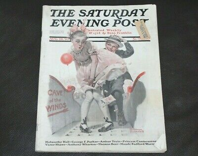 $ CDN41.36 • Buy The Saturday Evening Post | August 28, 1920 Norman Rockwell -- Complete Issue