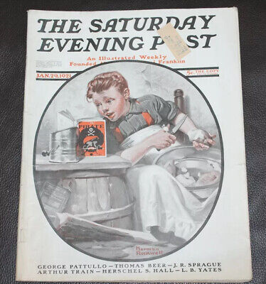 $ CDN29.45 • Buy The Saturday Evening Post January 29, 1921 Norman Rockwell Pirate Book Complete