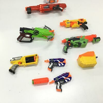AU9.99 • Buy Assorted Bulk Nerf Toys Untested Parts Only & Accessories #409