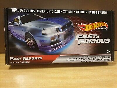 AU25 • Buy Hot Wheels Fast & Furious 1:64 Scale Set Of 5 Premium Cars (GRB02)
