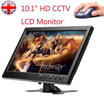 £62.99 • Buy 10.1 Inch Display Security Audio LED CCTV Monitor CCTV Touch Button HDMI VGA