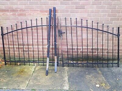 £195 • Buy Metal Driveway Gates With Posts And 3 Keys